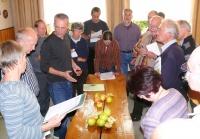 Sortenbestimmungsseminar Hördt 2011